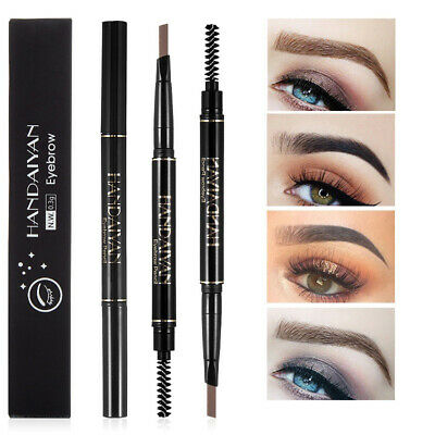 HANDAIYAN Brow Definer Pencil Rotation Eyebrow Pen Brush Waterproof Non-Smudge