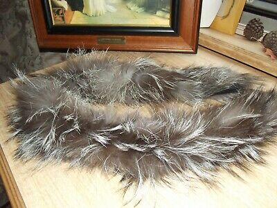 REAL FOX FUR COLLAR trim