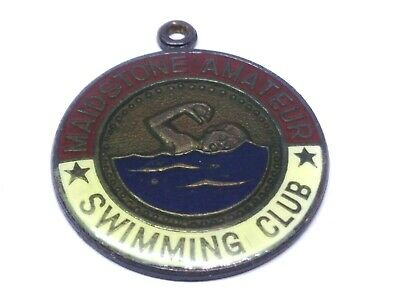 Maidstone Amateur Swimming Club Pin /  Badge