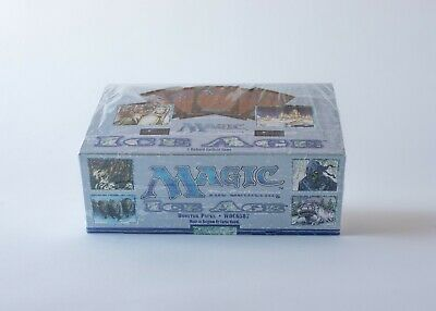 MTG Magic The Gathering ICE AGE Factory Sealed Booster Box MTG English
