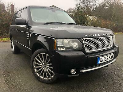 LAND ROVER RANGE ROVER TDV8 Auto Autobiography 2012 Diesel SemiAutomatic