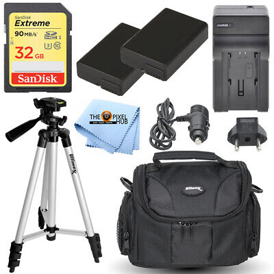 MEGA Accessory Bundle with Extreme 32GB SD Quick Release Pro Clip Backpack LED Light and More for Nikon D500 D750 D810 D850 D3500 D5600 D7100 D7200 D7500 Tripods