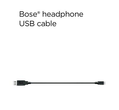 Bose USB cable, 30cm or 1m  Genuine Bose USB Cables for Headphones,......