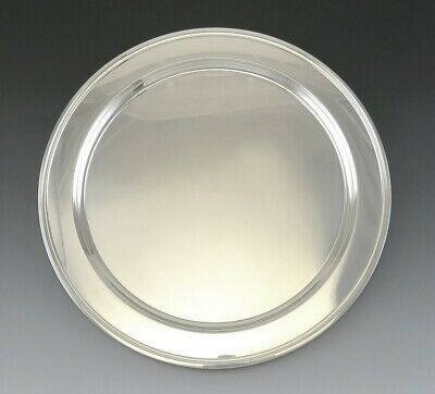 """Vintage Solid Sterling Silver Tiffany & Co Paul Revere Plate or Charger 12"""""""