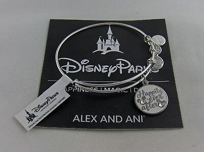 """Disney Alex And Ani """" Happily Ever After """" Ss, Nwt, Card, Alex And Ani Box"""