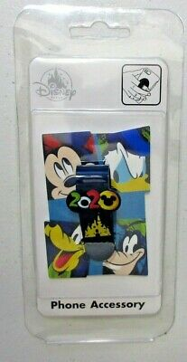 Disney Parks 2020 Dated Phone Flipper Mickey Donald Goofy Minnie Mouse NEW NWT
