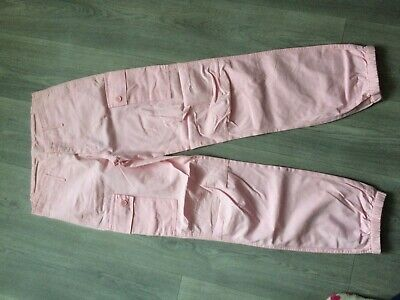 Kylie m and co pale pink combat style trousers 161cm 13 yrs combat style