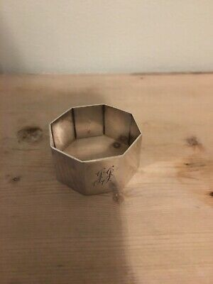 Antique Sterling Silver Napkin Ring