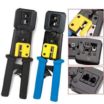 Pro Cable Wire Ratchet Crimper Terminals Electrical Cutter Plier Crimping Tool