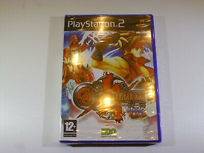Sony Playstation 2/Ps2 Guilty Gear X2 Reload New Sealed Free Uk Post