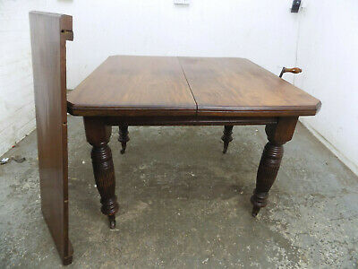extending,wind out,dining table,turned legs,castors,antique,victorian,mahogany