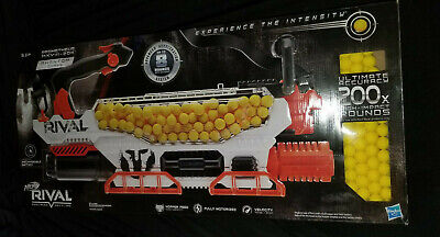 NEW Nerf Rival Prometheus MXVIII-20K Phantom Corps Gun with 200 Rounds Motorized