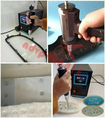 110V US Portable Ultrasonic Plastic Spot Welder Ultrasonic Spot Welding Machine