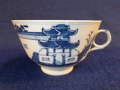 Canton China 19th Century Blue and White Cup