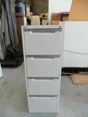 Office White Steelco 4 X Drawer Filing Cabinet Brisbane