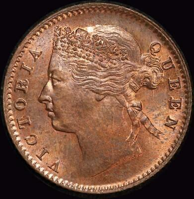 Straits Settlements 1889 Copper 1/4 Cent KM#14 Choice Uncirculated