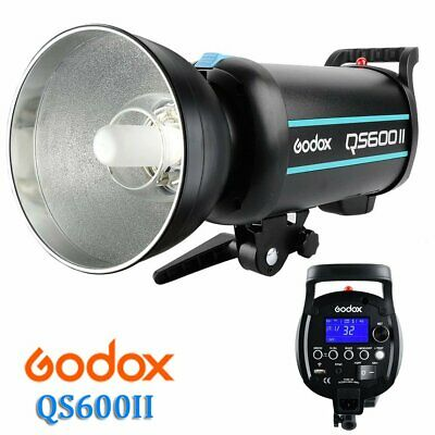 Godox QS600II 600W 2.4G Wireless X System Strobe Flash Light Speedlite Head 220V
