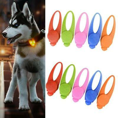 New Pet Dog Cat Puppy LED Flashing Light Collar Pendant Night Safety Lamps