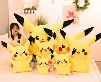 Anime Pokemon Go Big Pikachu Soft Plush Toy Kids Stuffed Teddy Dolls Kids Gift