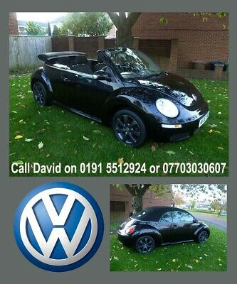 2006 VOLKSWAGEN BEETLE Convertible LUNA 1.6 NEW SHAPE.LOW MILES ONLY 59000