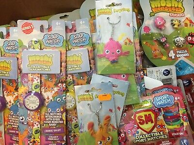 job lot wholesale 50 x moshi monster items  bulk buy 50 random items new