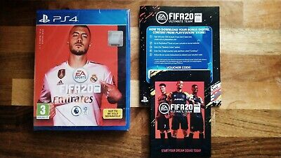 PS4 - FIFA 20 With Ultimate Team & PS plus online trial  - brand new sealed