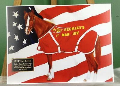 Sgt. Reckless - America's War Horse Limited Edition Print