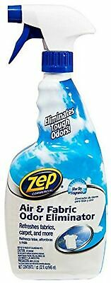 ZEP ZUAIR32 Air and Fabric Odor Eliminator, Fresh Scent, 32 oz Spray Bottle