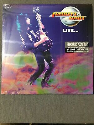 """Ace Frehley """"FREHLEY'S COMET LIVE"""" RSD Black Friday"""