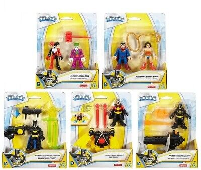 Fisher-Price Imaginext Justice League Figures With Accessories- Choice Of 5 -New