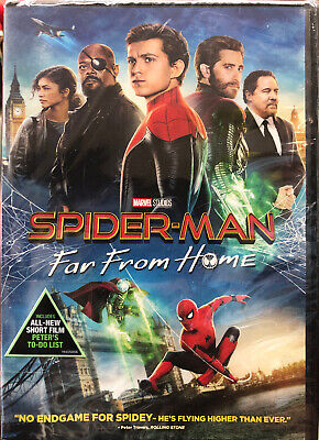 Spider-Man: Far From Home (DVD, 2019)  Free Shipping!