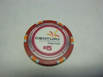 #16  Casino Chip} Century Casino- Central City Colorado-