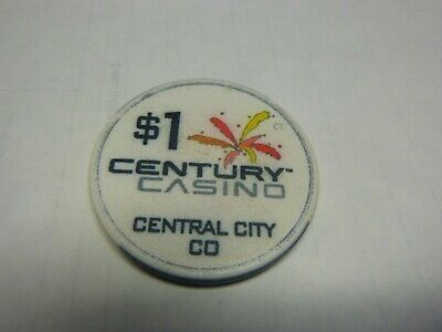 #13  Casino Chip} Century Casino- Central City Colorado-