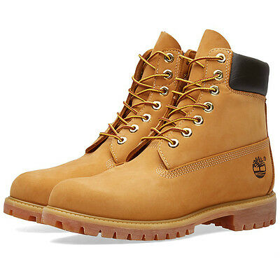 Timberland 6 Inch Premium Waterproof Boots Color Wheat Nubuck Style Tb010061-713