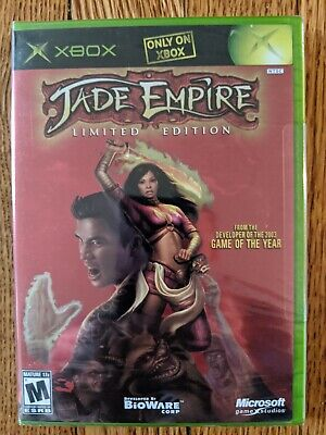 Jade Empire: Limited Edition (Xbox 2005) FACTORY SEALED - RARE
