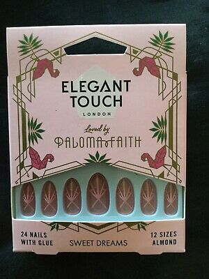 Elegant Touch False Nails Loved By Paloma Faith. Sweet Dreams. BNIB