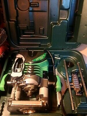 HITACHI M12V2 VARIABLE SPEED HALF INCH PLUNGE ROUTER 110v VERY CLEAN