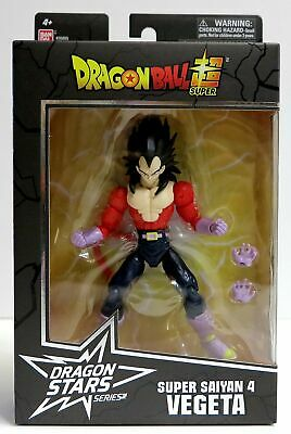 In STOCK Bandai Dragon Ball Stars Wave 13 Super Saiyan 4 Vegeta Action Figure
