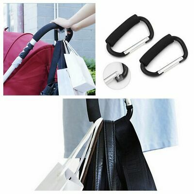 Hot Baby Care Organizador clip Cochecito titular Shopping bag Hook Percha