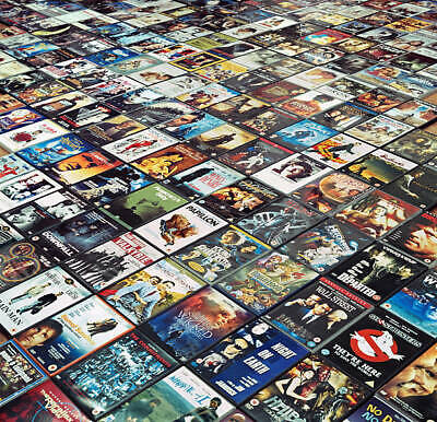 LOT Buy 10+1 DVD or BluRay Movies - pick any 11 DVDs or BluRay disks in my STORE