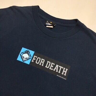 90's Vintage Blind Skateboards For Death Tshirt