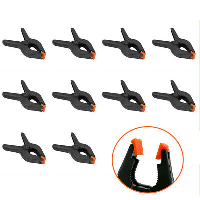 """Heavy Duty Muslin Spring Clamps Clips 2"""" for Photo Studio Backdrops Backgrounds"""