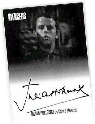 THE AVENGERS COMPLETE COLLECTION SERIES 1 AUTOGRAPH CARD JULIAN HOLLOWAY AVJH1