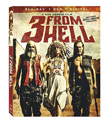 3 FROM HELL (2PC) (W/DVD) /...-3 FROM HELL (2PC) (W/DVD) (US IMPORT) Blu-Ray NEW