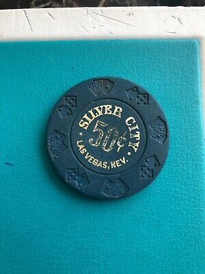 Silver City Las Vehas Casino Chip Closed  1999 Issued 1979