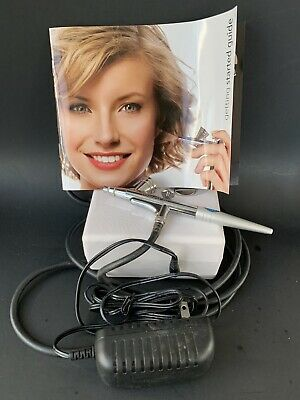 """Luminess Air Premium Cosmetic /Makeup Airbrush System White """"WATCH VIDEO"""" WORKS"""