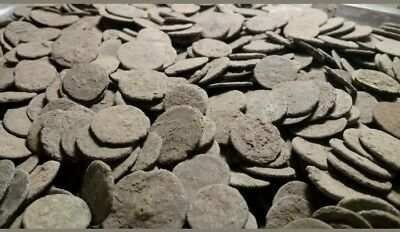 10 Ancient Roman Coins uncleaned