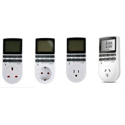 Programmable Digital Timer Switch Socket Electric Power Timeswitch