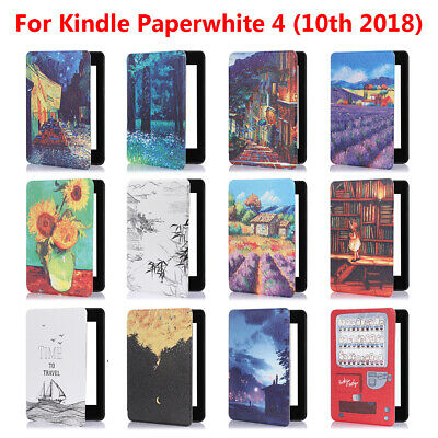 Shell Smart Case e-Reader Cover For Amazon Kindle Paperwhite 4 10th Gen 2018