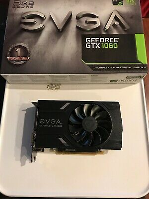 EVGA NVIDIA GeForce GTX 1060 6 GB GDDR5 Graphics Card (06G-P4-6161-KR)